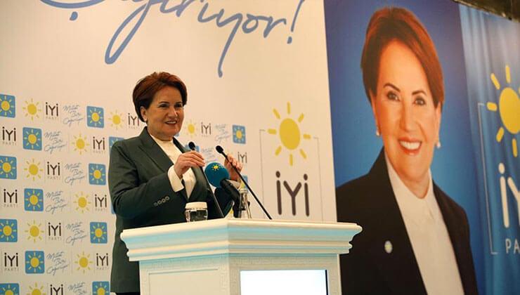 Akşener: Türkiye bir başka alana makas değiştiriyor