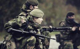 Norweç silahlı kuvvetleri kadınlardan oluşan özel kuvvetler eğitimlerini başlattı.