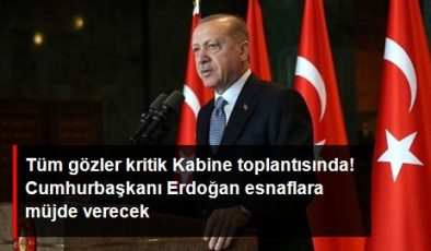 Cumhurbaşkanı Erdoğan, Kabine toplantısının ardından esnafa müjde verecek